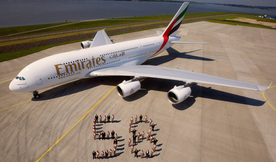 Delivery of Firts A380